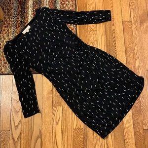 LOFT Black&White Dress